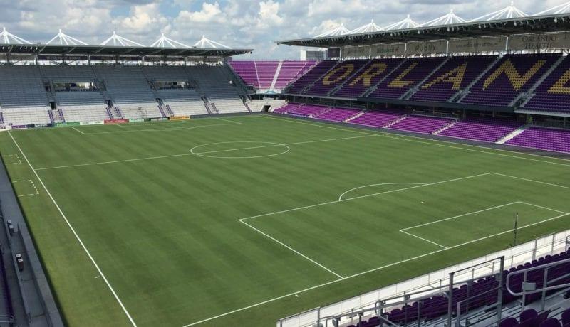 Latitude 36 Orlando City Exploria Soccer Stadium